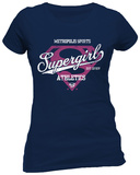 Juniors: Supergirl- Metropolis Athletics Skjorta