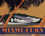 Miami-Cuba Affischer av David Grandin