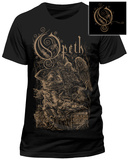 Opeth- Demon Of The Fall (Front/Back Slim Fit) Camisetas