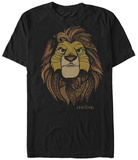 Lion King- King Face T-Shirts