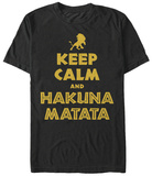 Lion King- Keep Calm T-shirts