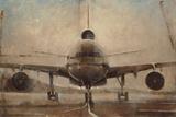Tonal Plane Print by Joseph Cates