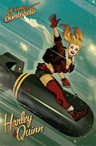 DC Comics Bombshells- Harley Quinn Bomb Plakát