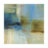 Blue Abstract Poster by Simon Addyman