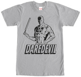Daredevil- Hero Stencil T-shirts
