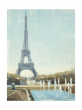 Eiffel Tower Print by Joseph Cates