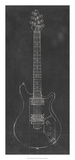 Electric Guitar Blueprint II Giclee Print by Ethan Harper