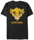 Lion King- Cub Face T-shirts