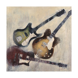 Guitars I Poster by Joseph Cates