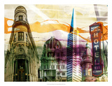 San Francisco Buildings II Giclee Print by Sisa Jasper