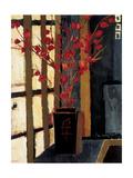 Japanese Lanterns Posters by Liz Jardine