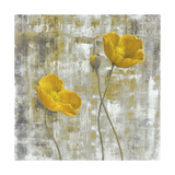 Yellow Flowers I Posters by Carol Black