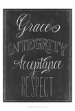 Chalkboard Faith V Prints by Grace Popp