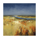 Sunlit Fields Prints by Lisa Ridgers