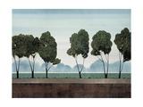 Six Trees Premium Giclee Print by Robert Charon