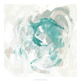 Teal Fog I Kunstdrucke von June Erica Vess