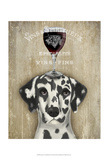 Dog Au Vin Dalmatian Prints by  Fab Funky