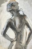 Gesture II Prints by Liz Jardine