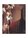 Persimmon Vase II Print by Terri Burris