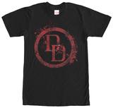 Daredevil- Splatter Logo T-Shirt