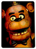 Five Nights at Freddy's Throw Blanket Fleece Blanket