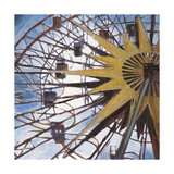 Ferris Wheel Prints by Liz Jardine