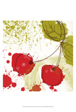 Modern Cherry Poster by Irena Orlov