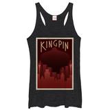 Juniors Tank Top: Daredevil- Kingpin Deco Shirts
