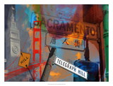San Francisco Signs I Giclee Print by Sisa Jasper