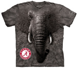 University Of Alabama- Big Face Al Camo Shirt
