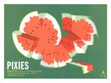 Pixies 2011 Posters av Kii Arens