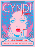 Cyndi Lauper Poster by Kii Arens