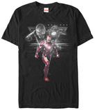 Captain America Civil War- Armored Enforcer T-shirts
