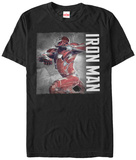 Captain America Civil War- Iron Charge T-shirts