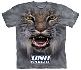 University Of New Hampshire- Big Face Wildcat T-shirts