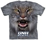 University Of New Hampshire- Big Face Wildcat T-shirts