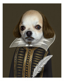 Shakespeare (Pets Rock) Poster by  Takkoda