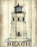 Light House White Prints by Sunny