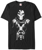 Captain America Civil War- Crossbones Silhouette T-shirts