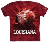 University Of Louisiana At Lafayette- Breakthrough Football T-Shirt