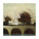 Foggy Bridge I Plakat af Randy Hibberd