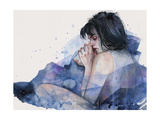 Fine on the Outside Premium Giclee Print by Agnes Cecile