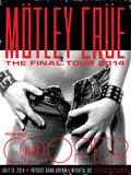 Motley Crue Poster von Kii Arens