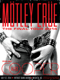 Motley Crue Poster by Kii Arens