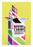 Pixies 2010 Poster von Kii Arens