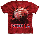 University Of Mississippi- Breakthrough Rebels Football T-shirts