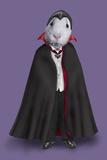 Dracula (Pets Rock) Poster by  Takkoda