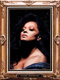 Diana Ross (Flocked) Poster von Kii Arens