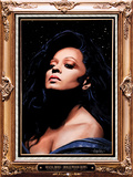 Diana Ross (Flocked) Pósters por Kii Arens