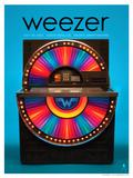 Weezer Costa Mesa 2013 Poster von Kii Arens